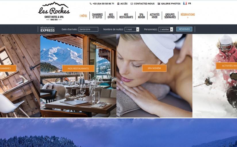 Déjeuner aux Roches Sweet Hotel & Spa